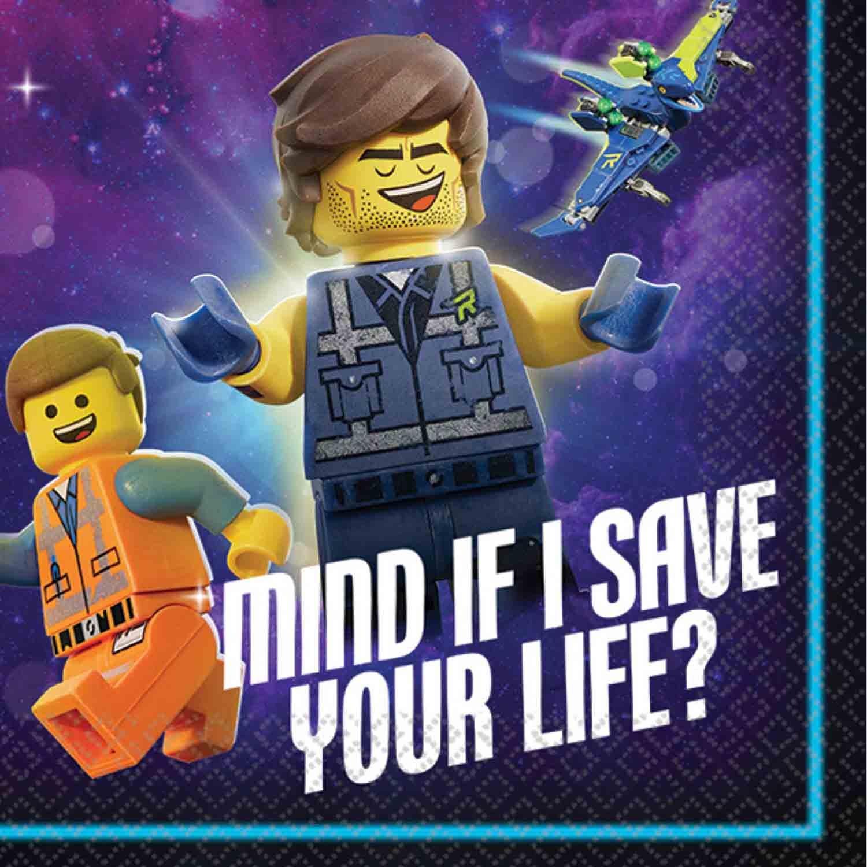 Lego Movie 2 Beverage Napkins