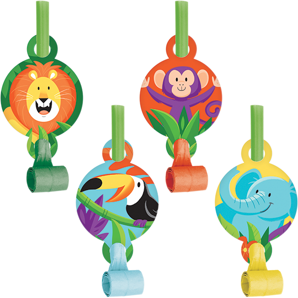 Jungle Safari Blowouts with Medallions