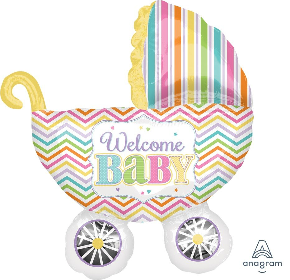 SuperShape  Baby Brights Carriage  P35