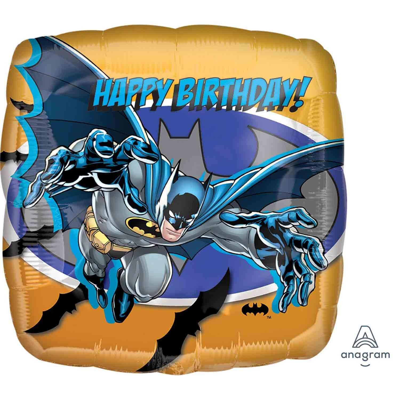 45cm Standard HX Batman Happy Birthday S60