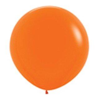 Sempertex 90cm Fashion Orange Latex Balloons 061, 2PK