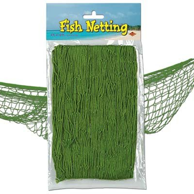 Fish Netting Decoration Green