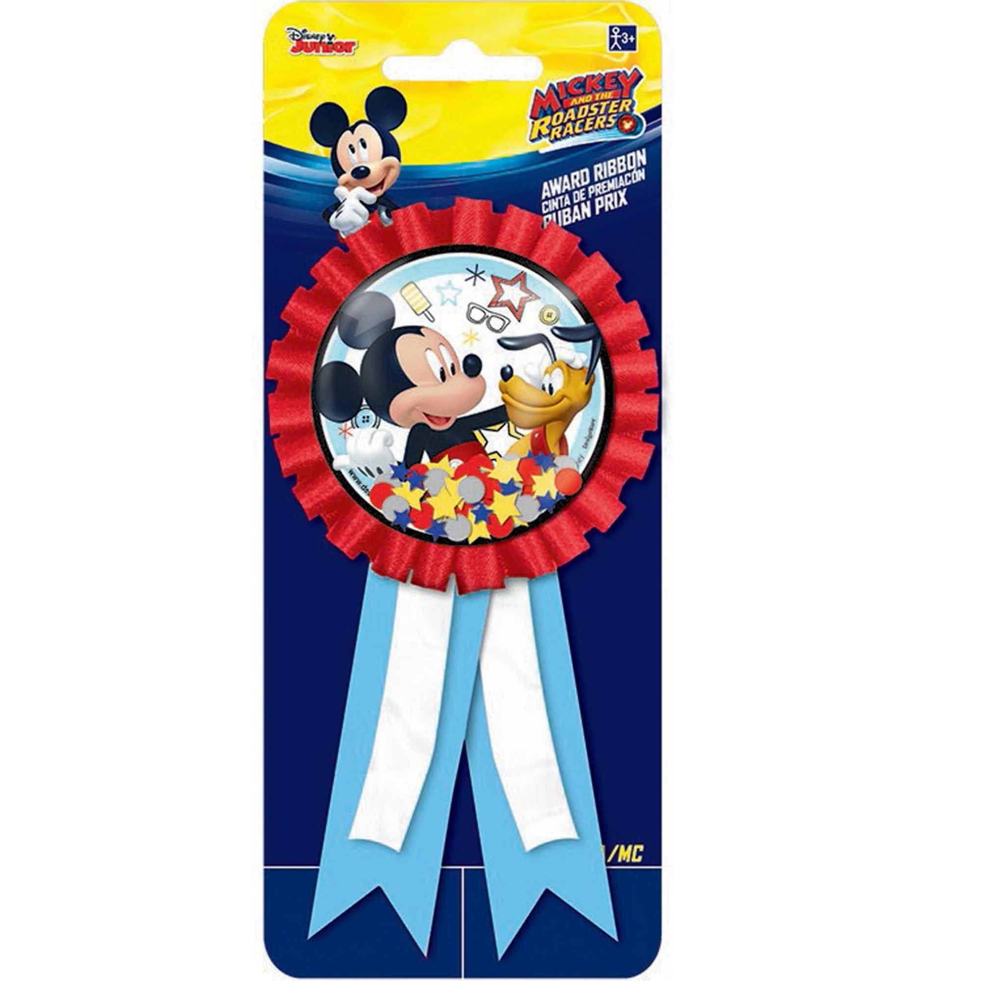 Mickey on the Go Confetti Pouch Award Ribbon