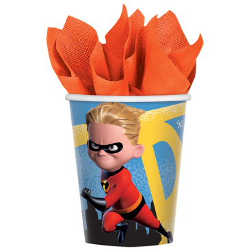 Incredibles 2 266ml Cups