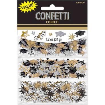 Grad Foil Confetti Value Pack 1.2oz/34grams