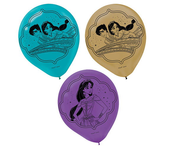 """Aladdin 12"""" / 30cm Latex Balloons"