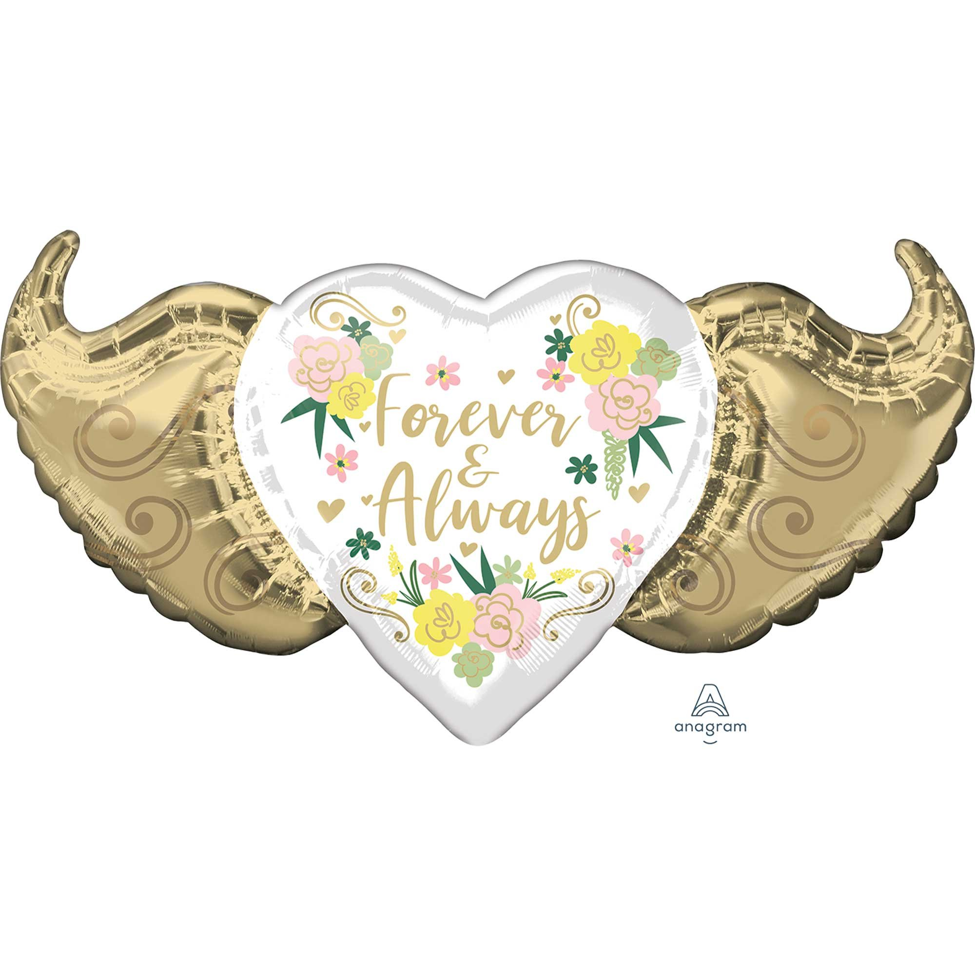 SuperShape Forever & Always Floral Winged Heart P30