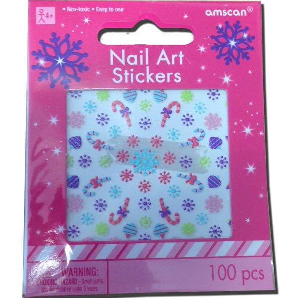 Nail Art Sticker Kit Christmas