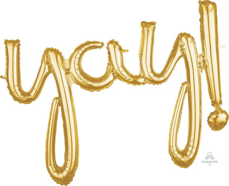 CI: Script Phrase yay! Gold G40