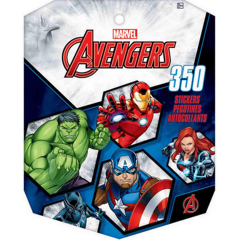 Sticker Book Avengers