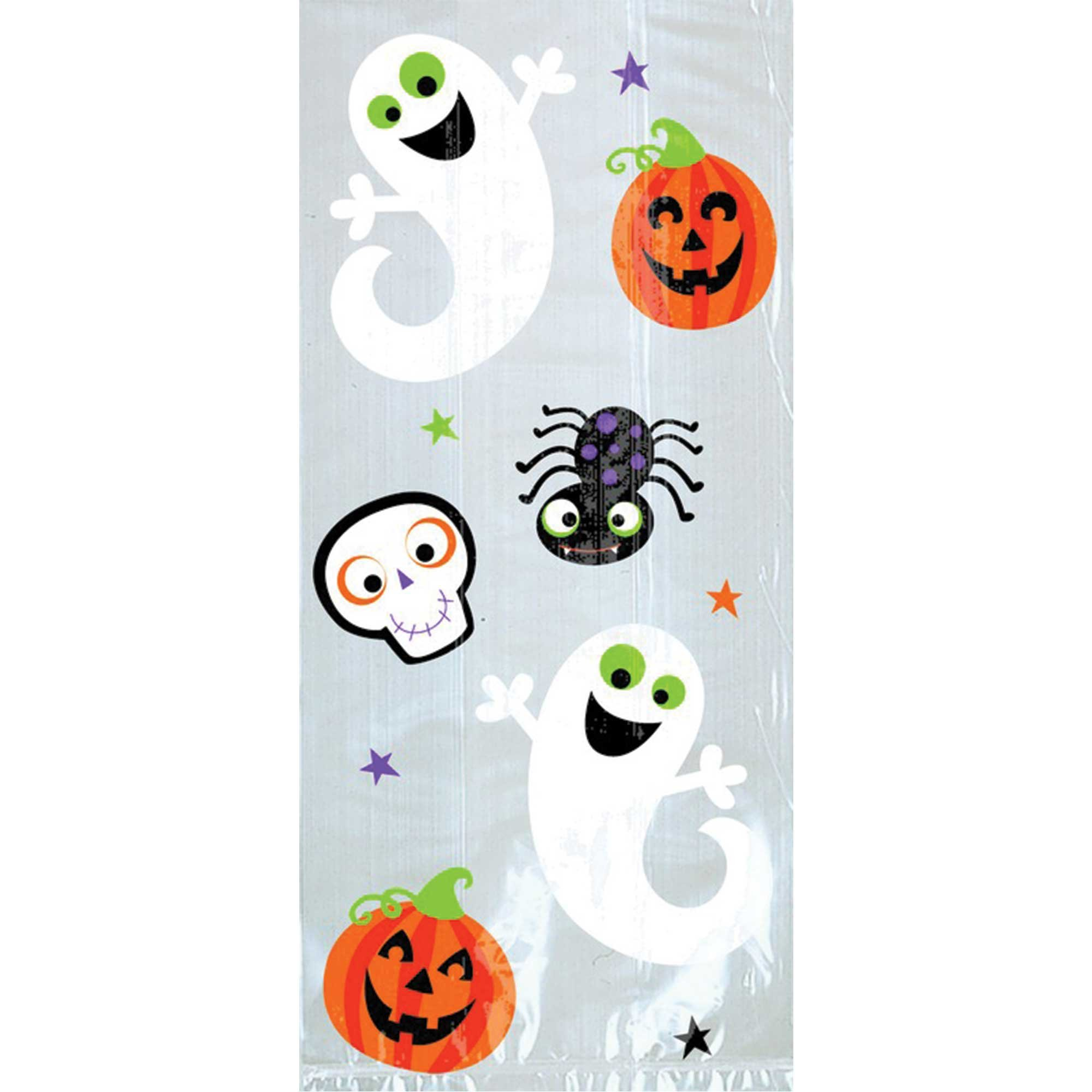 Halloween Friendly Cello Loot Bags Small