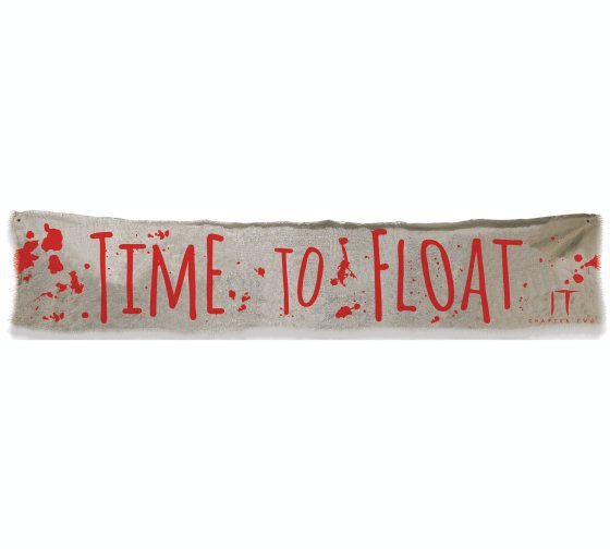 IT Time to Float Cloth Banner