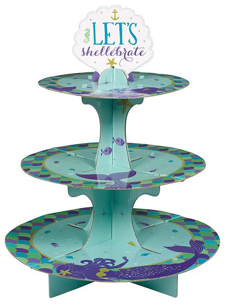 Mermaid Wishes Treat Cupcake Stand