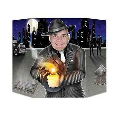 20's Gangster Shooter Photo Prop