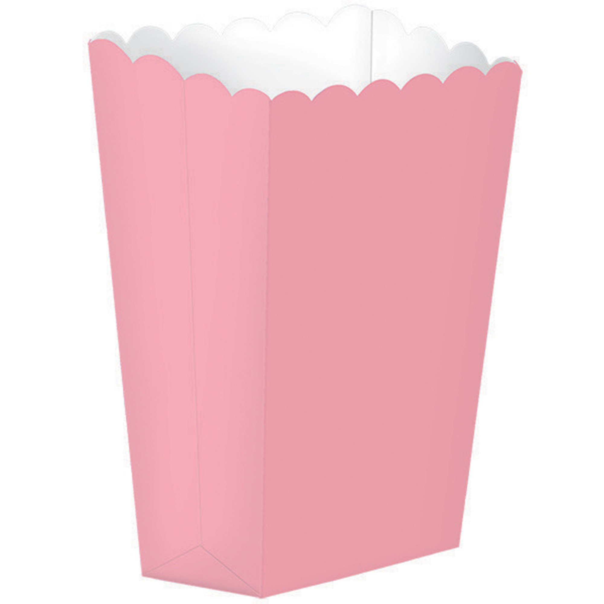 Popcorn Favor Boxes Small New Pink