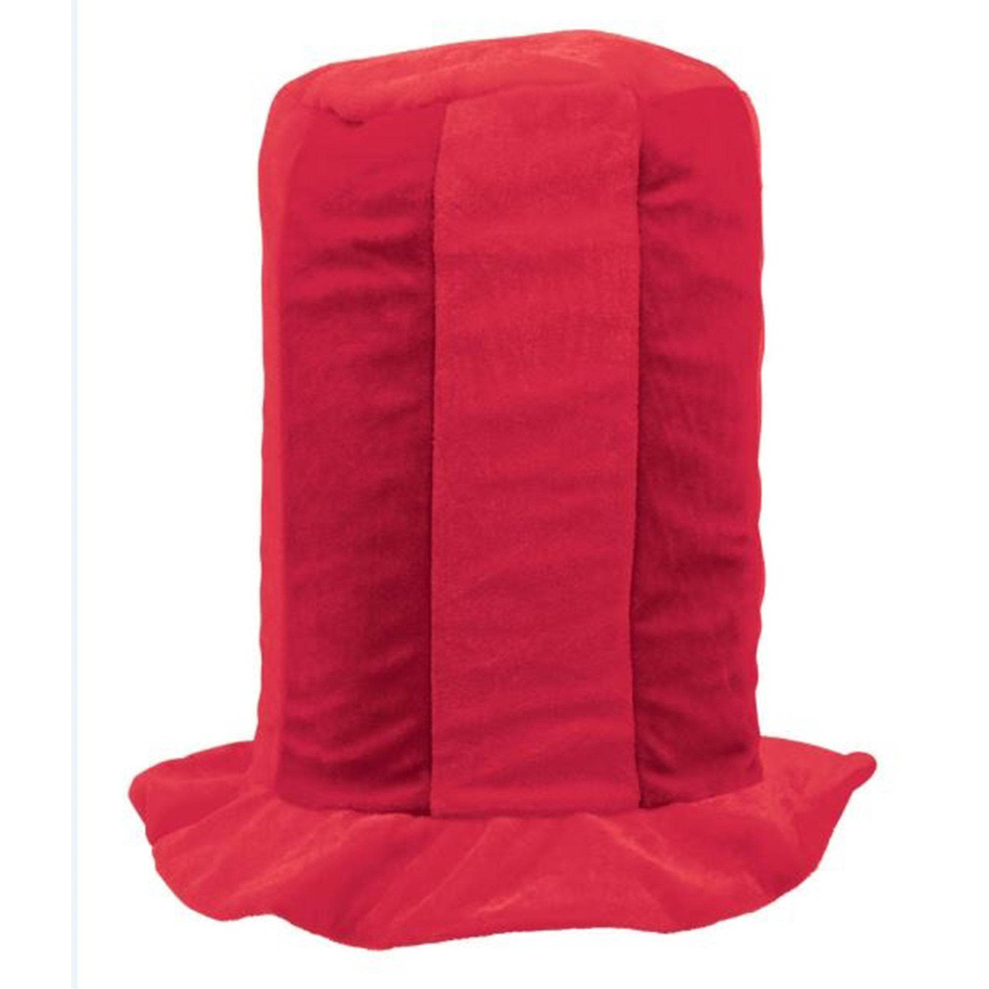 Tall Top Hat - Red