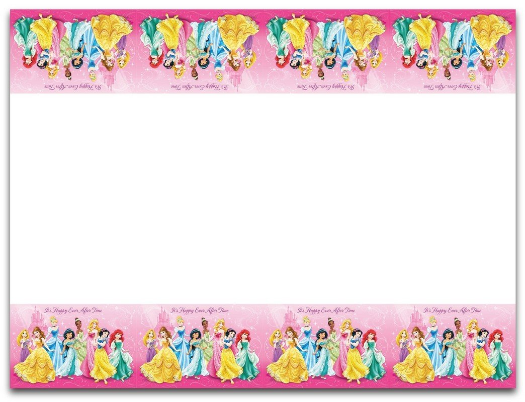 Disney Princess Sparkle Tablecover Plastic