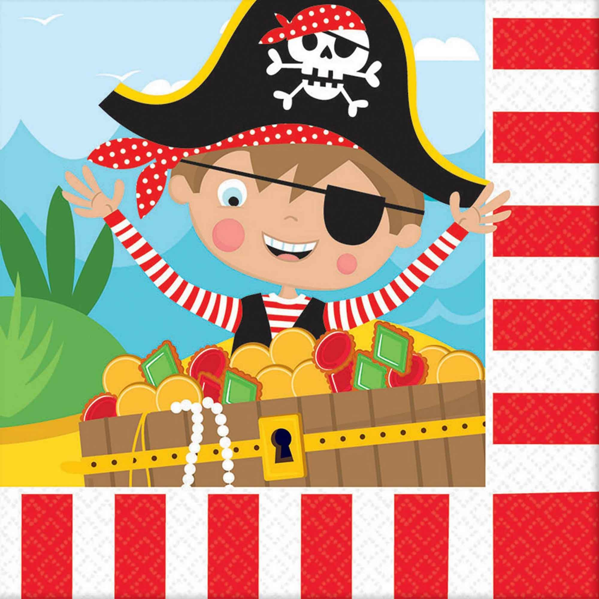 Little Pirate Lunch Napkins