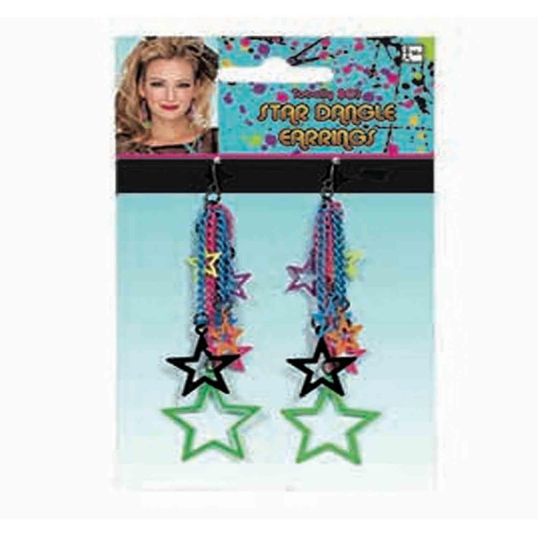Star Dangle Earrings