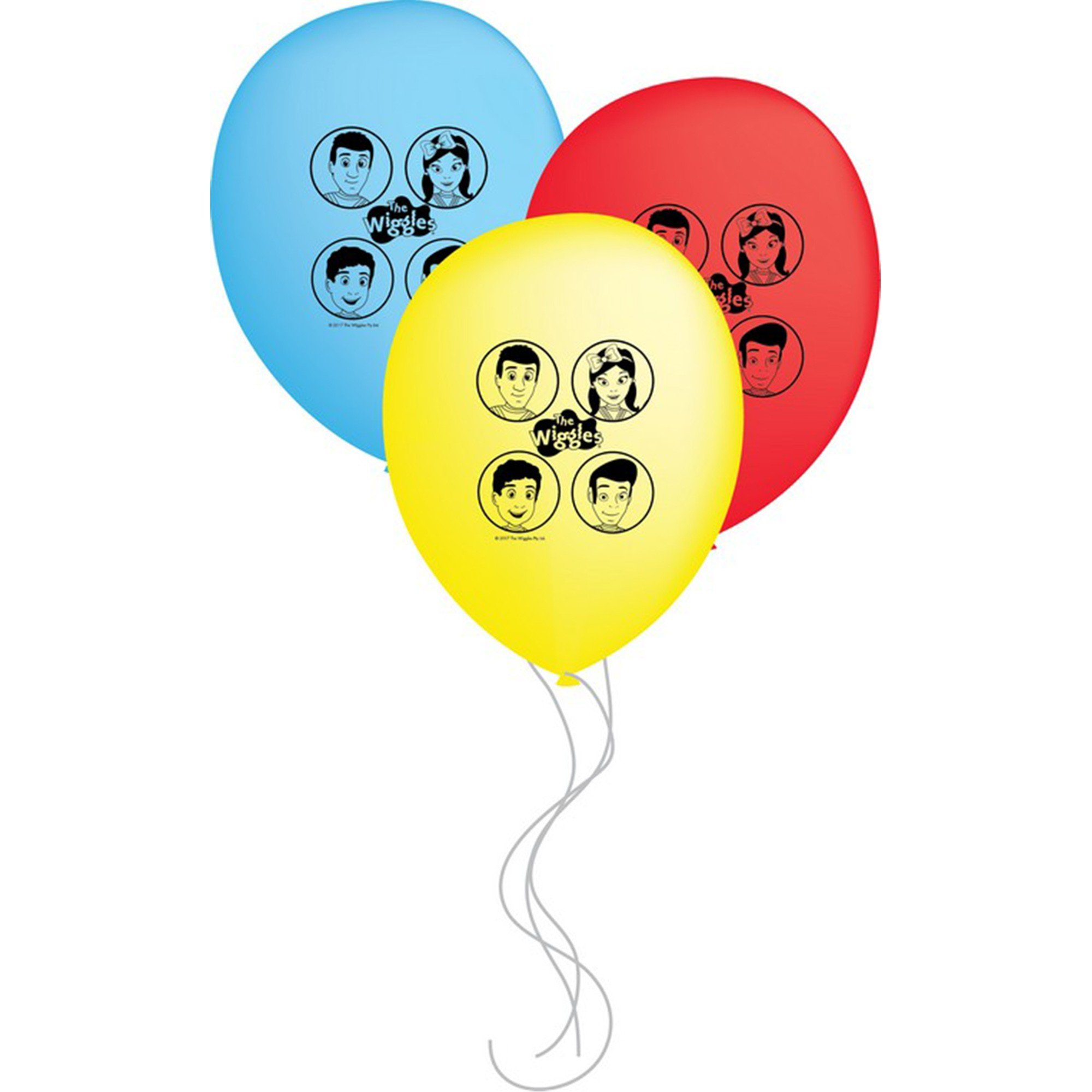 The Wiggles 30cm Latex Balloons