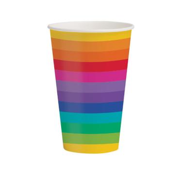 Rainbow Cups Paper
