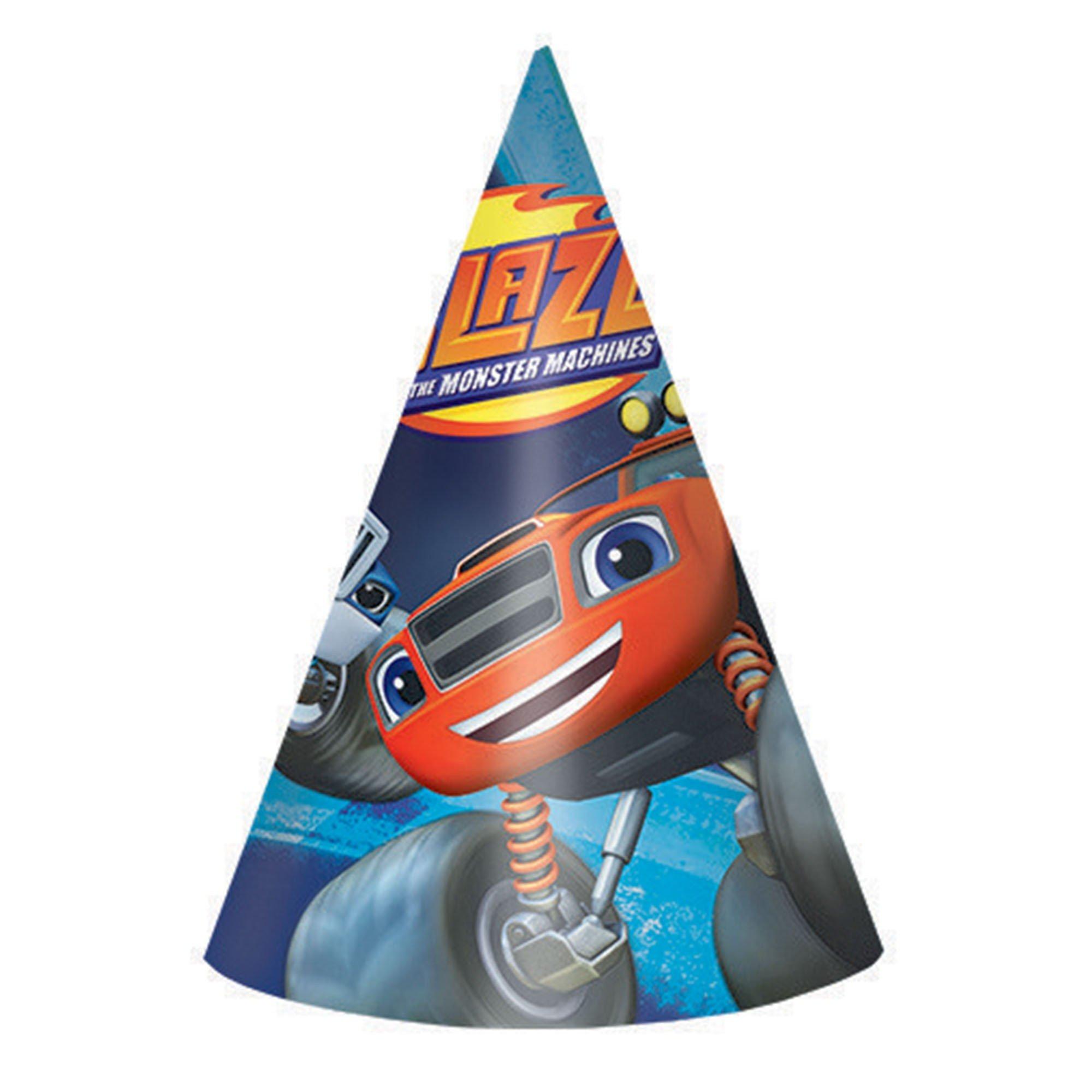 Blaze Paper Cone Hats