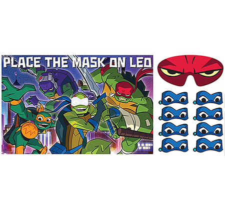 Rise of the Teenage Mutant Ninja Turtles Party Game