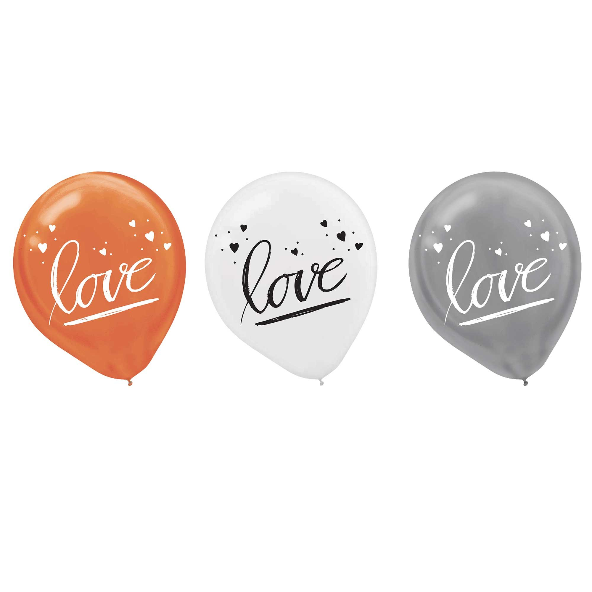 Navy Bride 30cm Latex love Balloons Assorted Colours
