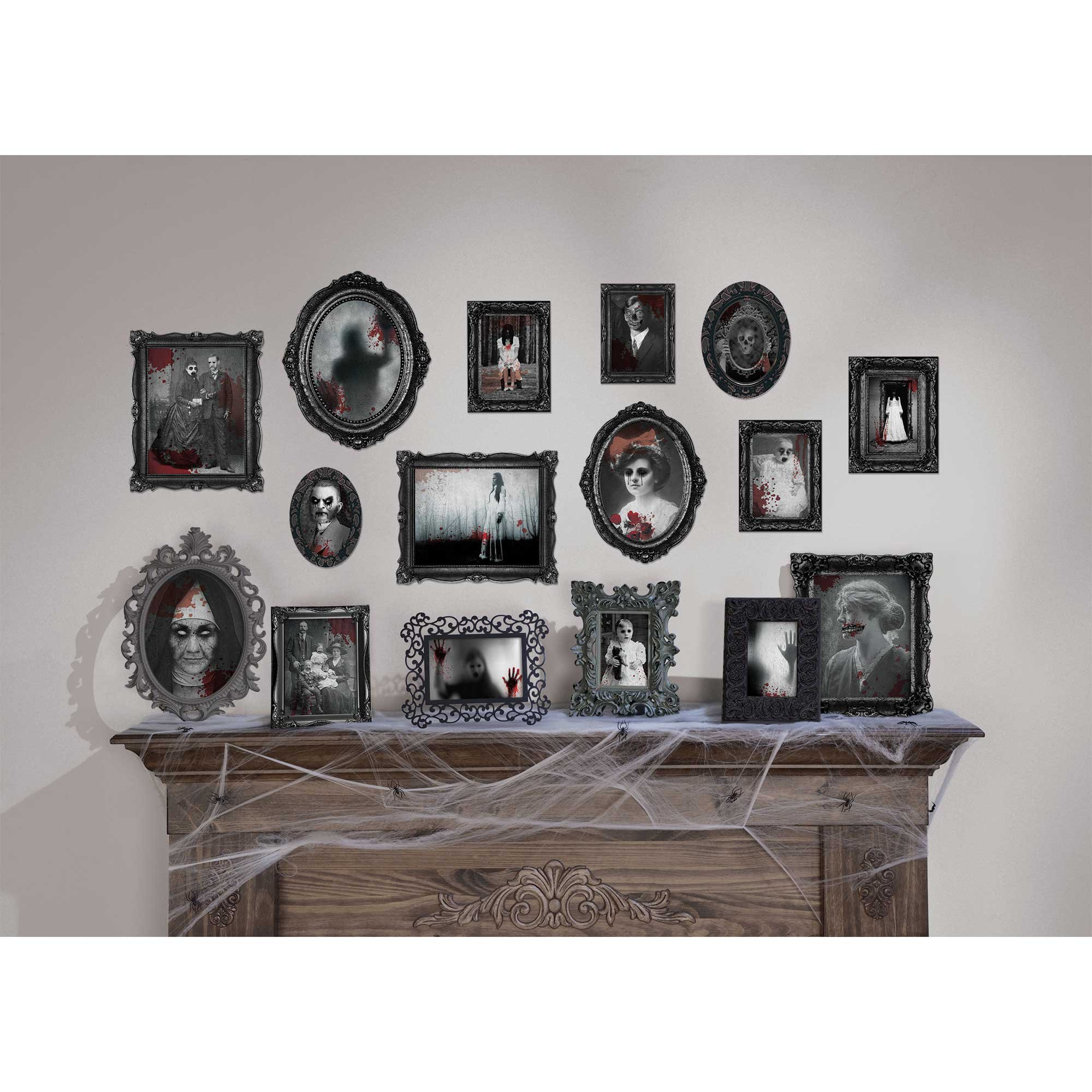 Dark Manor Framed Pictures Cutouts